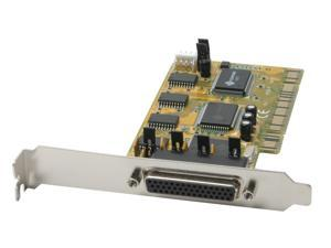 StarTech 4 Port PCI RS232 Powered Serial Adapter Card Model PCI4S650PW