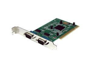 StarTech 2 Port 16950 Serial PCI Card Model PCI2S950