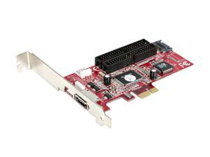 StarTech PCI Express SATA IDE Combo Controller Adapter Card Model PEXSAT2IDE2 - OEM
