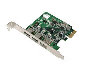 StarTech 3 Port 2b 1a PCI Express 1394 FireWire Adapter Card