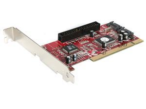 StarTech 2S1I PCI SATA IDE Combo Controller Adapter Card