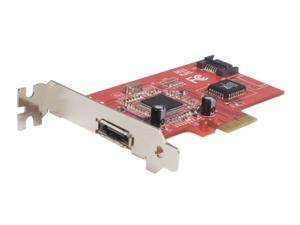 StarTech 1 Port eSATA + 1 Port SATA II PCI Express SATA Controller Card