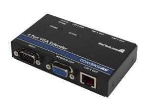StarTech 4 Port VGA Video Extender over Cat 5 ST1214T