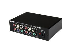 StarTech ST123HDA 3 Port Component Video Splitter with Digital Audio