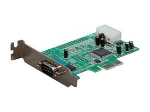 StarTech Low Profile Native RS232 PCI Express Serial Card with 16550 UART Model PEX1S553LP