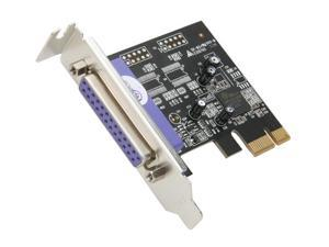 StarTech 1 Port PCI Express Low Profile Parallel Adapter Card Model PEX1PLP