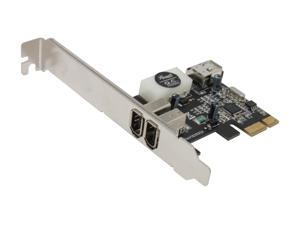 Rosewill PCIE FireWire 1394a Card 2+1 Ports Model RC-504