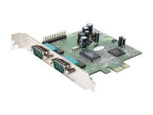 Koutech Dual Serial/Single Parallel PCI Express (x1) Card Model KW-222NE