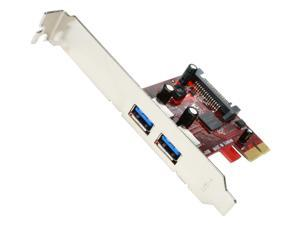 Koutech Dual Channel SuperSpeed USB 3.0 PCI Express Card Model IO-PEU230