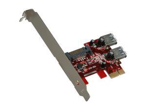 Koutech Dual Channel SuperSpeed USB 3.0 PCI Express Card (2x internal) Model IO-PEU232