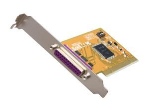 Koutech Single Parallel PCI Card (with Full Hardware Remap) Model IO-PP120