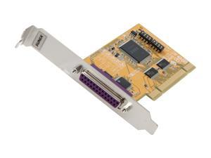 Koutech Single Parallel Port PCI Add-On Card Model IO-PP121