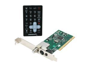 SABRENT  Hybrid PCI HDTV TV Tuner with FM Radio & Remote Control (ATSC Digital/Clear QAM/NTSC Analog)