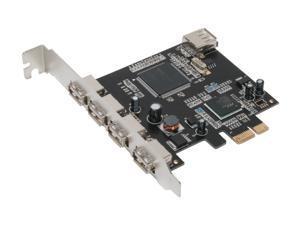 MASSCOOL 5-Ports USB 2.0 Card Model XWT-PCIE01
