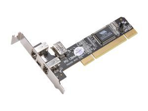 BYTECC Firewire 1394A 3+1 Ports Low Profile PCI Card Model BT-FW310LV