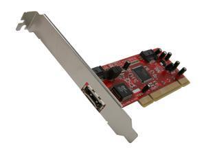 BYTECC PCI SATA Host Controller Card (e-SATA + SATA Ports) Model BT-P150E