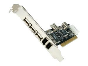 VANTEC 4-Port USB 2.0 & 3-Port FireWire 400 PCI Combo Host Card Model UGT-UF100