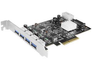 VANTEC UGT-PCE470-2C Dual Chip 4-Port Dedicated 10Gbps USB 3.1 Gen 2 PCIe Host Card