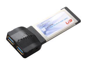 Mukii 2-ports SuperSpeed USB 3.0 ExpressCard Model TIP-PU301CB