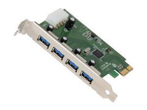 GWC USB 3.0 4-Port PCI Express Card Model PU3040
