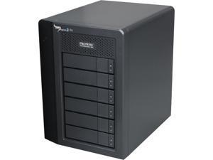 "PROMISE Pegasus2 R6 P2R6HD18US RAID 0, 1, 5,6,10,50 6 3.5"" Drive Bays 2 x Thunderbolt 2 18TB RAID System"
