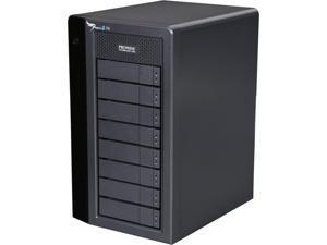 "PROMISE Pegasus2 R8 P2R8HD32HUS RAID 0, 1, 5,6,10,50,60 8 3.5"" Drive Bays 2 x Thunderbolt 2 32TB RAID Storage Array"