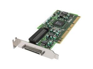 Adaptec SCSI Card 29320ALP-R 2253600-R PCI-X HostRAID RAID 0, 1,10 Card, Single