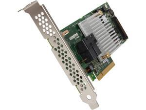Adaptec 8805 (2277500-R) PCI-Express 3.0 x8 Low Profile SATA / SAS High Port Count SAS/SATA RAID Adapters