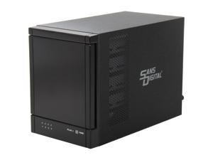 "SANS DIGITAL TowerRAID TR4U+B JBOD 4 x SATA 3.5"" Drive Bays USB 3.0 4 Bay SATA to USB 3.0 JBOD Enclosure (Black)"