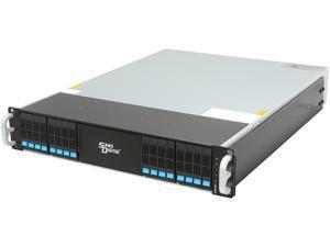 "SANS DIGITAL EliteSTOR ES216X6+BS 2U 16 Bay 2.5"" 6G SAS/SATA to SAS JBOD with SAS Expander Rackmount"