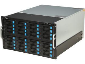 "SANS DIGITAL ES632X12 RAID JBOD 32 Hot-Swappable 3.5"" Drive Bay 3.5"" Drive Bays 6U 32 Bay 12G SAS/SATA to SAS JBOD with 12G SAS Expander Rackmount"