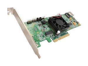 HighPoint RocketRAID 4310 PCI-Express x8 Four-Port SATA and SAS HARDWARE RAID Controller Card