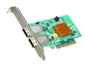 HighPoint RocketRAID 2722 PCI-Express 2.0 x8 Low Profile SATA / SAS RAID Controller Card