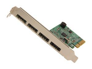 HighPoint RocketRAID 644L PCI-Express 2.0 x4 SATA III (6.0Gb/s) RAID Controller Card