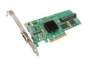 LSI SAS3442E-R PCI Express SATA / SAS Controller Card Single Pack