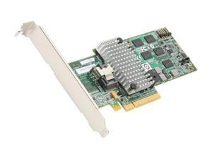 LSI MegaRAID SATA / SAS 9260-4i 6Gb/s PCI-Express 2.0 w/ 512MB onboard memory RAID Controller Card, Single--Avago Technologies
