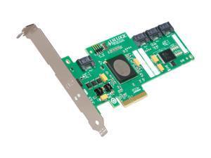 LSI LSI00168 PCI Express x4 SAS Logic LSISAS3041E-R 4 Port SAS RAID Controller