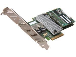 LSI MegaRAID Internal SAS 9265-8i 6Gb/s Dual Core ROC w/ 1GB cache memory RAID Controller Card, Single