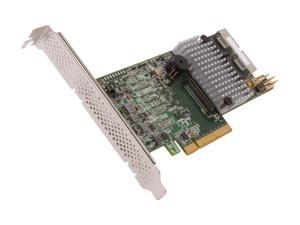 LSI MegaRAID LSI00295 (9266-8i SGL) PCI-Express 2.0 x8 Low Profile SATA / SAS RAID Controller - Single--Avago Technologies