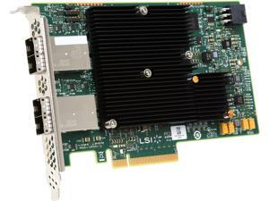 LSI LSI00342 PCI-Express 3.0 x8 Full height SAS 16-port Host Bus Adapter--Avago Technologies
