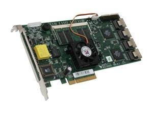 Accusys ACS-61010-16 PCI Express 2.5GHz x8, transfer rate up to 2GBps SATA II (3.0Gb/s) Controller Card