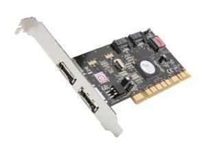 SYBA SD-SATA2-2E2I PCI SATA II (3.0Gb/s) Controller Card
