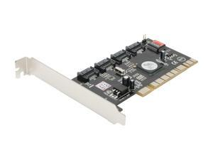 SYBA SD-SATA2-4IR PCI SATA II (3.0Gb/s) RAID Controller Card