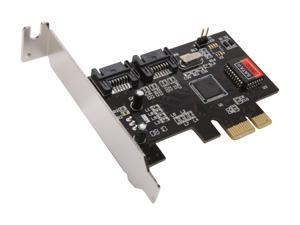 SYBA SD-LP-PEX2IR PCI Express Low Profile SATA II (3.0Gb/s) Controller Card