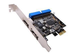 SYBA SD-PEX-JM1A2E PCI Express SATA / IDE Controller Card