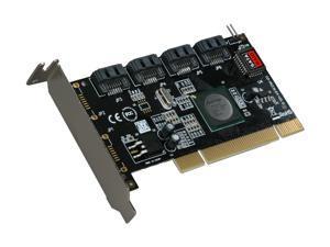 SYBA SY-PCI40026 PCI SATA II (3.0Gb/s) RAID Controller Card