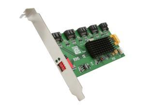 SYBA SY-PCI40037 SATA II (3.0Gb/s) 1:5 (5x1) Port Multiplier PCI Mounting Card