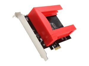 SYBA SD-PEX40044 PCI-Express 2.0 SATA III (6.0Gb/s) RAID Caddy Controller Card