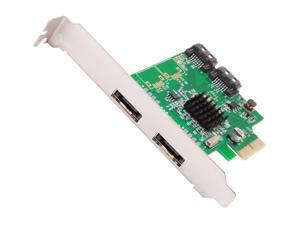 SYBA SI-PEX40063 PCI-Express 2.0 x2 Low Profile Ready SATA III (6.0Gb/s) Controller Card
