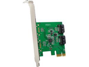 SYBA SI-PEX40094 PCI Express Low Profile Ready SATA SATA III 2 Internal 6Gbps Ports PCI-e Controller Card